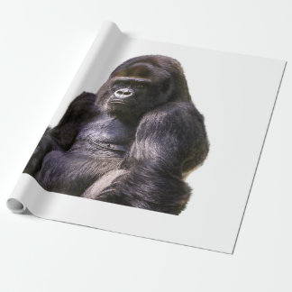 Gorilla Ape Monkey Wrapping Paper