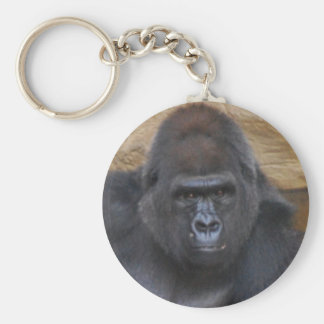 gorilla basic round button key ring