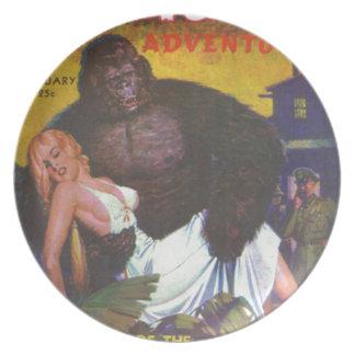 Gorilla Boyfriend Plate