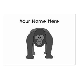 Gorilla Cartoon Business Card