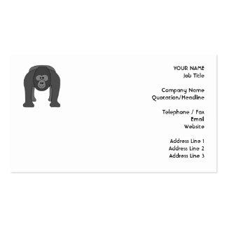 Gorilla Cartoon Pack Of Standard Business Cards