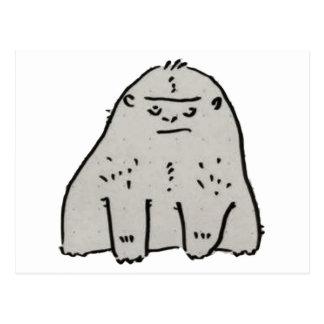 Gorilla Cartoon Postcard