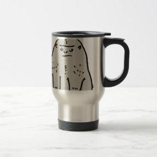 Gorilla Cartoon Stainless Steel Travel Mug