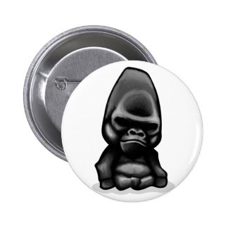 Gorilla Design Pinback Buttons