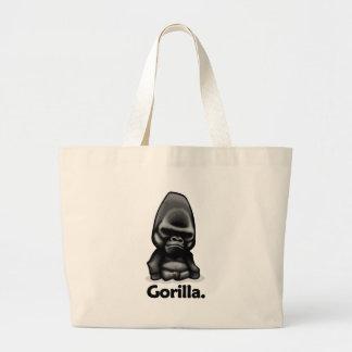 Gorilla Gorilla. Canvas Bags