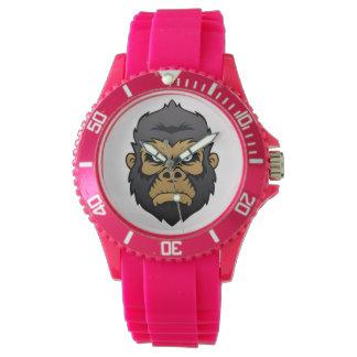 Gorilla Head Cartoon. Watches