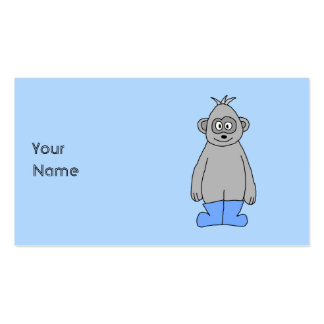 Gorilla in Blue Boots. Business Card