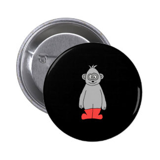 Gorilla in Red Boots Pins