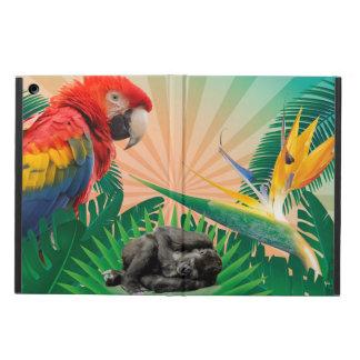 Gorilla jungle parrot case for iPad air