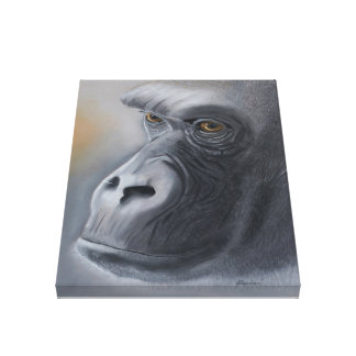 Gorilla Love Canvas Print
