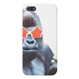 Gorilla middlefinger Street Art Iphone 4 & 4S case iPhone 5 Cases
