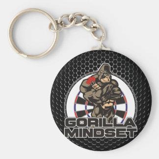 Gorilla Mindset Darts Team Key Ring