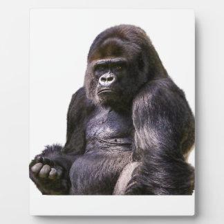 Gorilla Monkey Ape Plaque