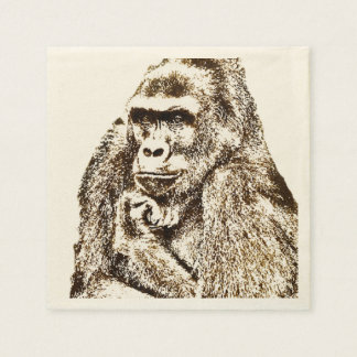 Gorilla Napkins Disposable Napkin