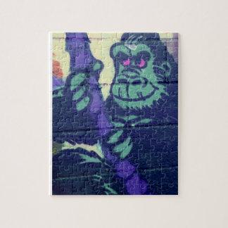 gorilla paimting puzzle