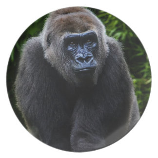 Gorilla Party Plate