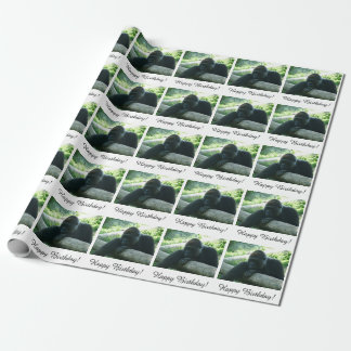 Gorilla Party Wrapping Paper