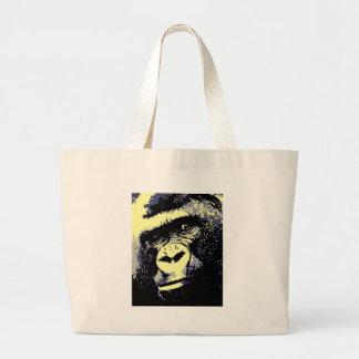 Gorilla Portrait Jumbo Tote Bag