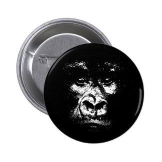 Gorilla Shadows 6 Cm Round Badge