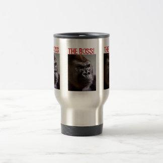 Gorilla Silverback The Boss Mug