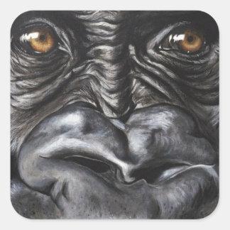 Gorilla Square Sticker