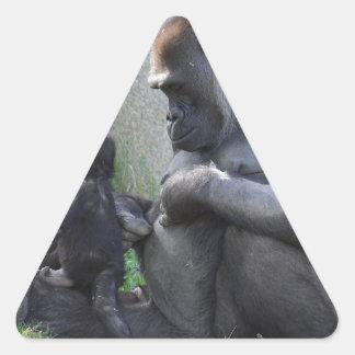 Gorilla Triangle Sticker