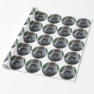 """Gorilla"" Wrapping Paper"