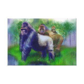 Gorillas in Our Midst Canvas Print