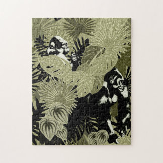Gorillas In The Rain Forest #5 Puzzle