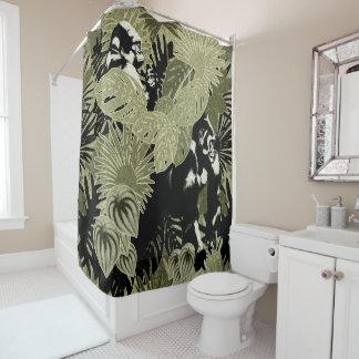 Gorillas In The Rain Forest #7 Shower Curtain