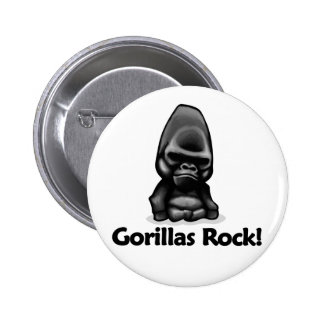Gorillas Rock Button