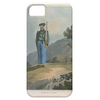 Gorkah Soldier, from 'Journal of a Route Across In iPhone 5 Cover