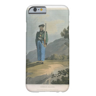 Gorkah Soldier from Journal of a Route Across In iPhone 6 Case