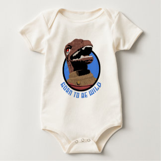 Gorn To Be Wild! Baby Bodysuit
