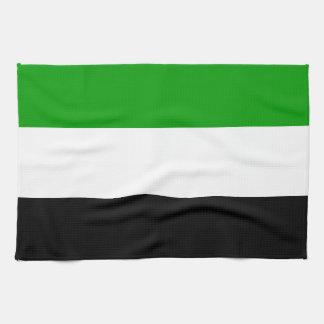 Gorno Badakhshan flag state Tajikistan region symb Tea Towel