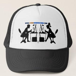 Gorra Blanca y Negra Trucker Hat