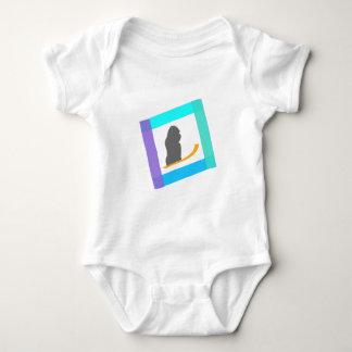 gorrila snow drive baby bodysuit
