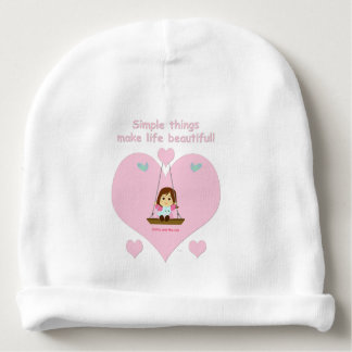 "Gorrito baby ""Cathy and the Cat"" Beautiful Life Baby Beanie"