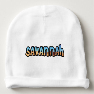 Gorrito for drinks customized Savannah Baby Beanie