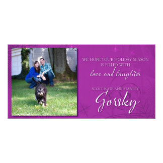 Gorsky Family Holiday cards Photo Greeting Card