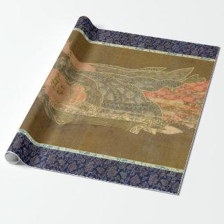 Goryeo Dynasty Bhikkhu Buddhist Monk Kshitigarbha Wrapping Paper