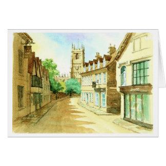 Gosditch  Street Cirencester Card