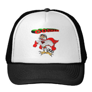 Goshawk Cartoon Mesh Hat