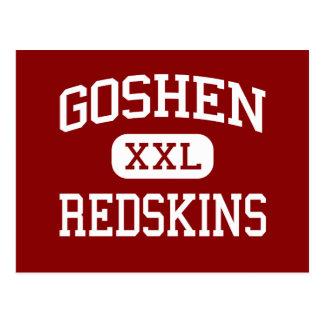 Goshen - Redskins - High School - Goshen Indiana Postcard