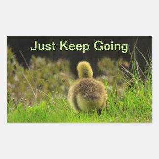 Gosling Inspirational Rectangular Sticker