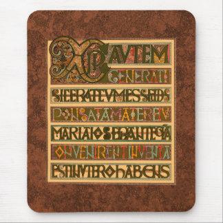 Gospel History of St. Matthew 8th Century Mouse Pad