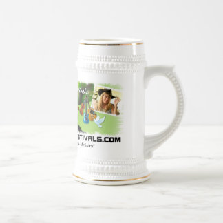 Gospel Music Festivals Beer Stein