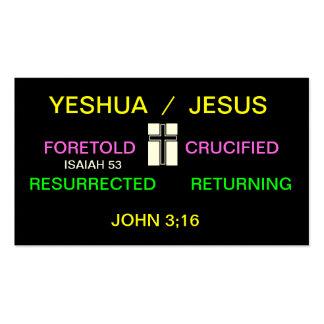 Gospel nutshell business cards
