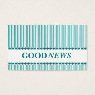 Gospel Plan of Salvation Christian Evangelism Business Card