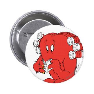 Gossamer Reading - Full Color 6 Cm Round Badge